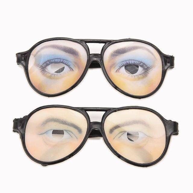 Funny Glasses Frame Eyes Frames Mischief Gag Toys Men Women Holiday ...