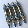 Диаметр отверстия 8 мм * 75 мм ход DSNU Серии ISO6432 мини круглый пневматический цилиндр