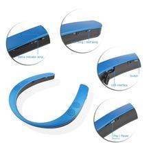 Wearable Neckband Wireless speakers Mini Stereo Bluetooth Speaker Headset bass sport loudspeaker support voice app for phone