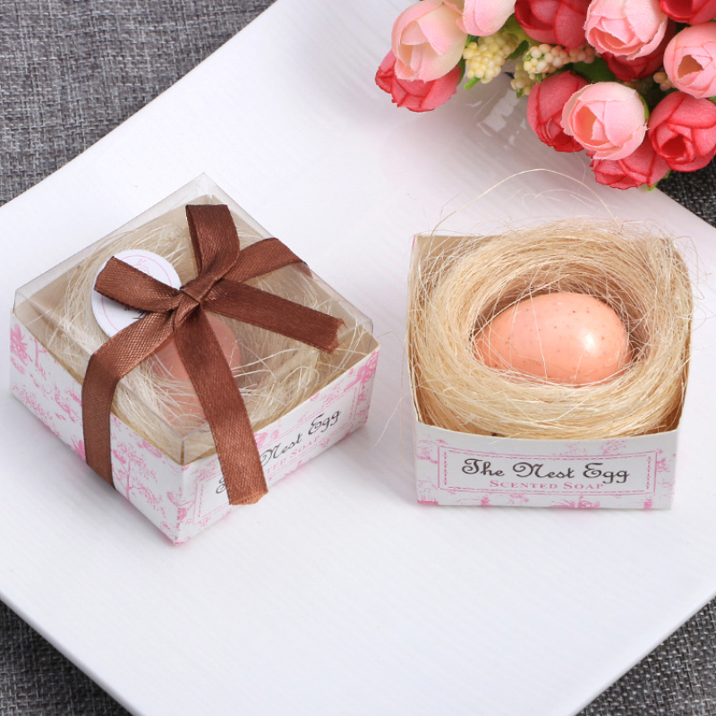 Cute Shape Handmade Soap Unique Souvenir Scented Wedding Supplies Gift Party Bath Body Hand Soap Wedding Decoration Gift TSLM1