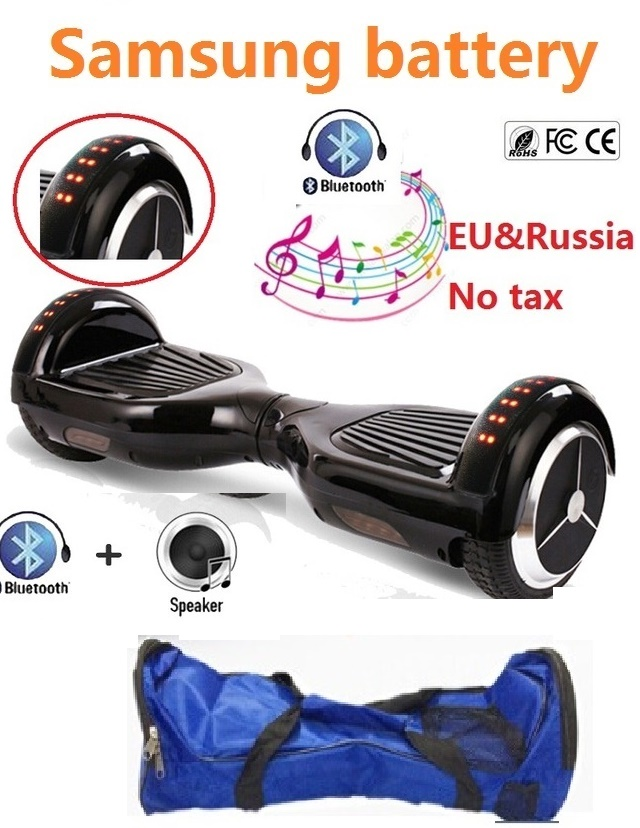 Electric skateboard with TOP LED Lights hoverboard balance scooter self balancing scooter hooverboard gyroscooter penny board
