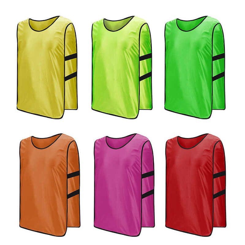 2cda985f8 Onedoyee 5pcs Team Football Soccer Training Vest Adults Men Women Pinnies  Jerseys Scrimmage Vest Basketball Training