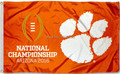 Clemson Tigers 2016 National Championship Flag and Banner 3x5ft