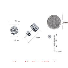 European and American zircon studs, medical needles, AAA lady earrings for special activities