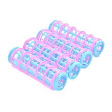 5 Pcs lot Doll Hair Curler for Barbie Beauty Dolls Pink and Blue Color Kids Girls