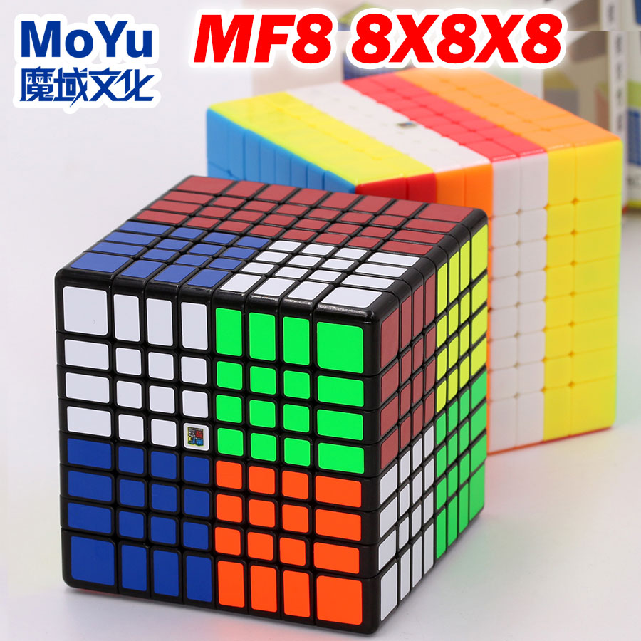 Puzzle Magic Cube Moyu Cubing Classroom Mofang Jiaoshi MF8 Meilong 8x8x8  6.9cm Level Educational Professional Speed Cube Toys