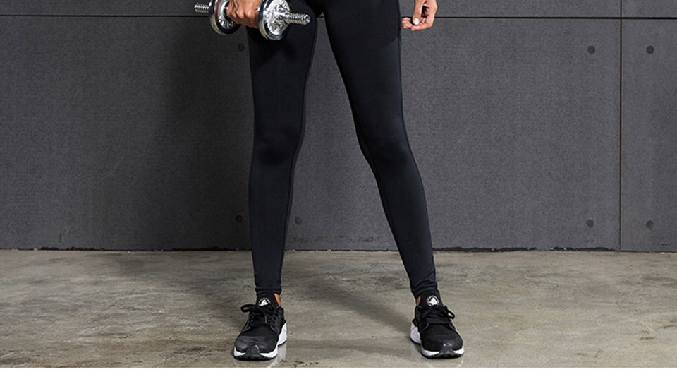 VANSYDICAL Sport Pants Sale For Women Elastic Tights Female Sexy Pant Yoga Gym Fitness Running Trousers Slim Leggings 32