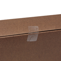 DHL Rectangle PVC Clear Sticker For Envelope File Pocket Box Seal Clear Plastic Seal Label With Sticky Viscous Blank Package