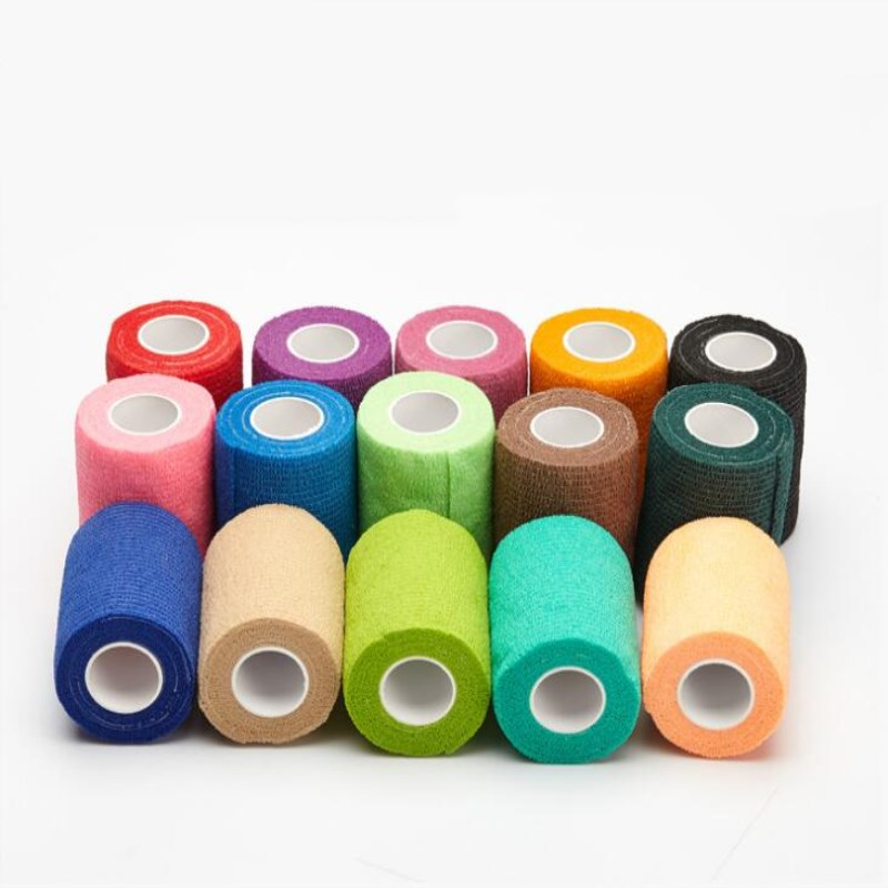 1pc Self Adhesive Elastic Tattoo Bandage Non woven Fabric 5cm*4.5m Wide Elbow Binding Protection Wrap Nail Tape Tattoo -in Tattoo Kits from Beauty & Health on Aliexpress.com | Alibaba Group