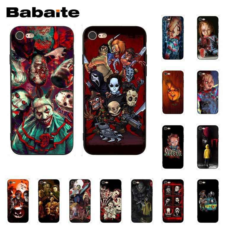 Babaite фильм ужас икона черезы Чаки CHILDS PhoneCase для iphone 11 Pro 11Pro Max X XS MAX 6 6S 7 7plus 8 8Plus 5s XR