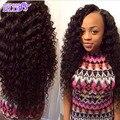 Профессиональный Индийский Реми Волосы сырья и индийские глубоко вьющиеся 7а необработанные девы волос natural black реми волос пучки 8-26 дюймов может купить