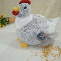 large 40 cm soft hen, chicken plush toy, throw pillow ,Christmas gift h19