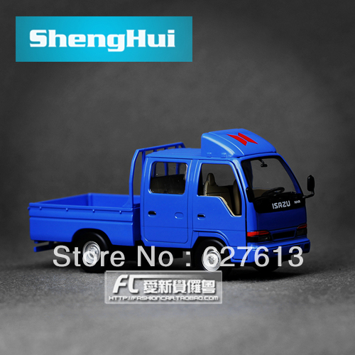 Wholesale!FREE SHIPPING!(10pieces) 100% Brand New car's model/In the bag isuzu truck alloy car model toy
