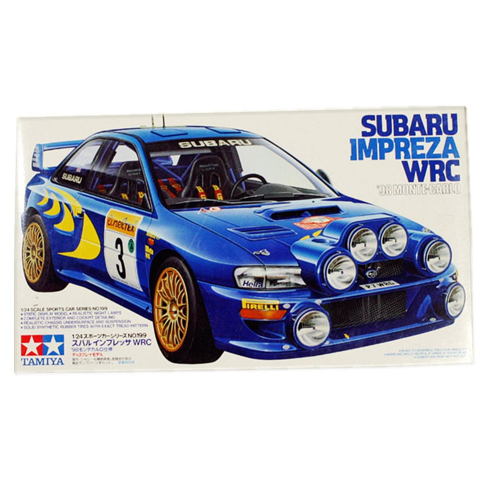OHS Tamiya 24199 1/24 Impreza WRC 98 Monte Carlo Scale Assembly Car Model Building Kits G-in Model Building Kits from Toys & Hobbies    1