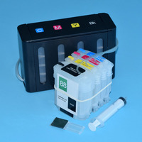 4 color Bulk Ciss Ink system for HP88 for HP K5400 K5300 K8600 K550 Printers with Auto Reset Chips