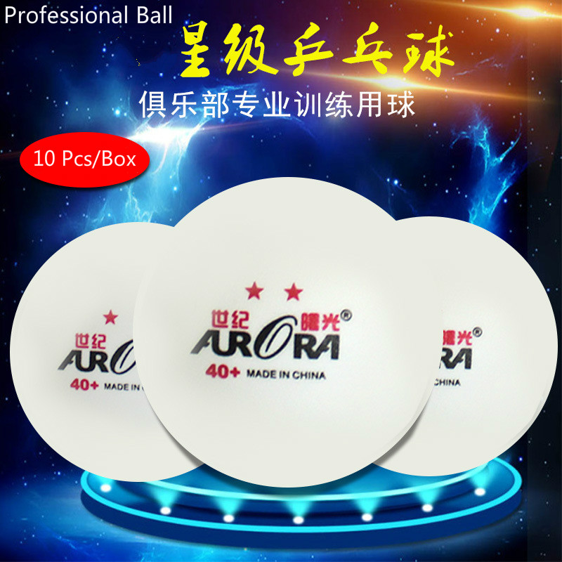 6/10 Pcs International Table Tennis Federation Certification ABS 3 Or 2 Stars Pingpong 40+ Professional Match Ping-Pong Ball