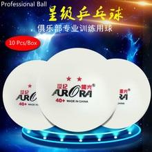 6/10 Pcs International Table Tennis Federation Certification ABS 3 or 2 Stars Pingpong 40+ Professional Match Ping-Pong Ball galaxy yinhe lq 2 lq2 lq 2 professional defensive table tennis pingpong blade