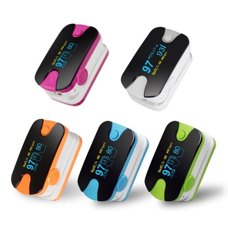 2018 New RR Portable Color OLED Finger Pulse Oximeter 4 Parameter SPO2 PR PI RR Respiration Rate Monitor Blood Pressure Monitor gpyoja 2016 hot selling multi parameter ecg nibp spo2 pr temp resp tablet patient monitor