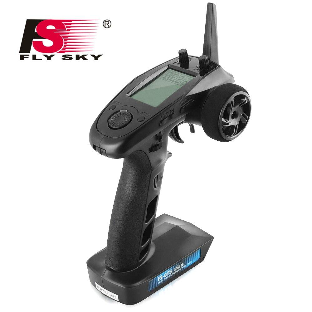 FLY CIEL FS-GT5 2.4g 6CH Émetteur avec FS-BS6 Récepteur Récepteur Intégré Gyro Fail-Safe pour RC Voiture Bateau flysky émetteur