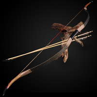 Archery 30 50lbs Recurve Bow Traditional Crima Tatar Bow Outdoor Hunting Target Shooting Games Turkish Longbow