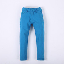Hot Sale Children Pants For Girls Boys Pants For 4-9 Years Kids Pencil Trousers