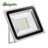 2Pcs 100W LED Flood Light 220 240V 11000LM Reflector Floodlight IP65 Waterproof Led Lamp Adevertising Billboard