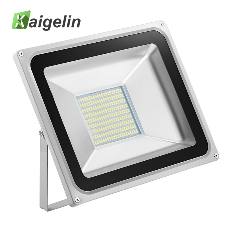 2 st 100W LED Flood Light 220-240V 11000LM Reflektor Floodlight IP65 Vattentät Led Lampa Adevertising Billboard Utomhusbelysning