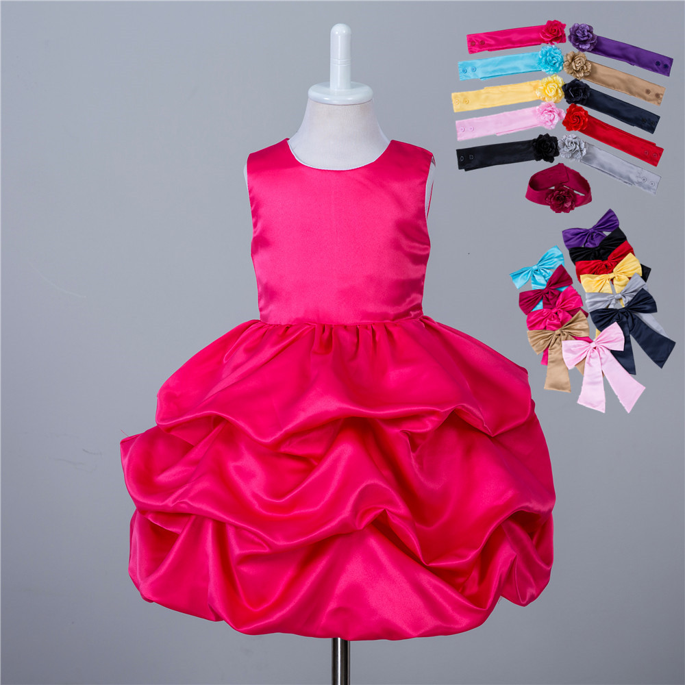 2017 children clothing sleeveless burgundy 3 to 10 year for 10 year old dresses for weddings