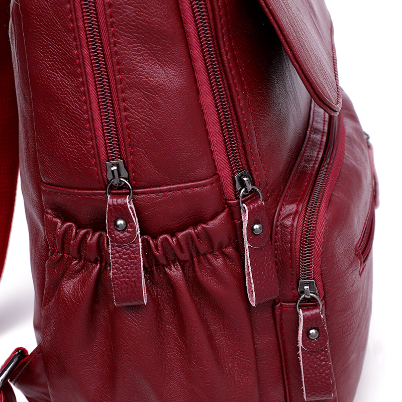 HTB1S99eR9zqK1RjSZFHq6z3CpXam 2019 Women Leather Backpacks High Quality Ladies Bagpack Luxury Designer Large Capacity Casual Daypack Sac A Dos Girl Mochilas