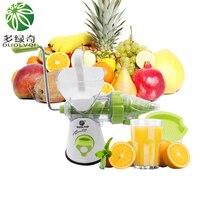 DUOLVQI Multifuctional  Handleiding  ijs  machine & slow juicer Fruit  Groente Gereedschap  Plastic Vruchten Squeezer  hand juicer Machine