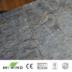 2019 MIJN WIND Zilveren Wolkbreuk Kurk Wallpapers Luxe 100% Echte Natuurlijke Materiaal Veiligheid Onschadelijkheid 3d Behang In Roll Home Decor