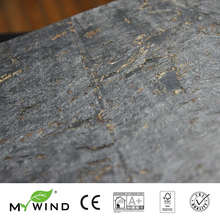 2019 MY WIND Silver Cloudburst Cork Wallpapers Luxury 100%Real Natural Material Safety Innocuity 3d Wallpaper In Roll Home Decor