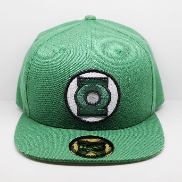 2018 Green Lantern Movie Character New Kid's hip hop Hat Children's   Baseball     Cap