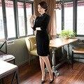 Новое Прибытие 6 Типы Китайское Традиционное Платье Женщины Шелкового Атласа Cheongsam Долго Qipao Капает Топ Размер M, L, XL, XXL XXXL