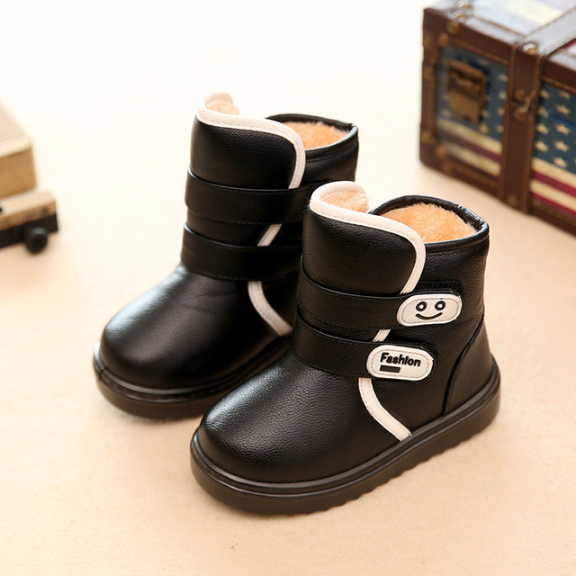 2016 winter new Fashion Children's shoes chaussure cute casual outdoor boys girls school Snow boots Super soft and comfortable Girl's Shoes