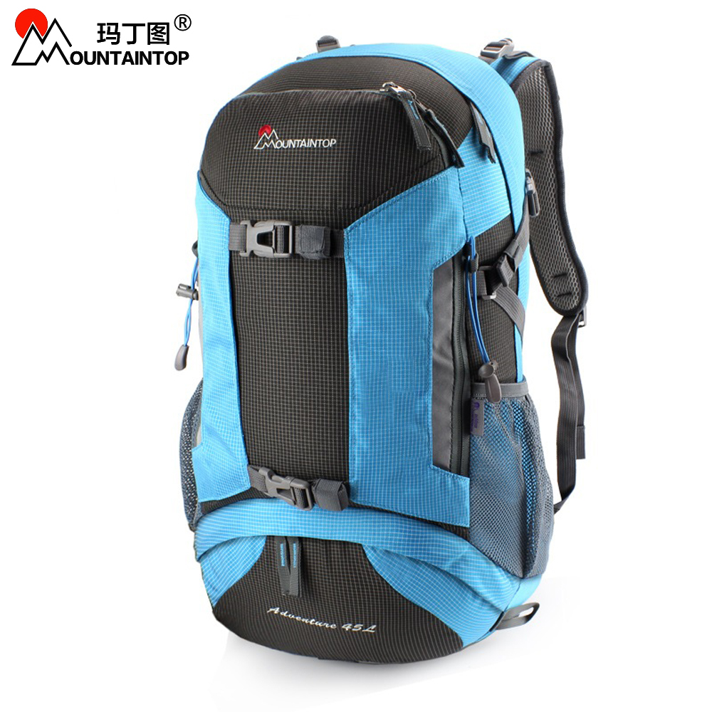 40L High Quality Climbing Bags Waterproof Polyester Fabric Outdoor Backpack for Camping Travel Hiking high quality 55l 10l internal frame climbing bag waterproof backpack suit for outdoor sports travel camping hinking bags
