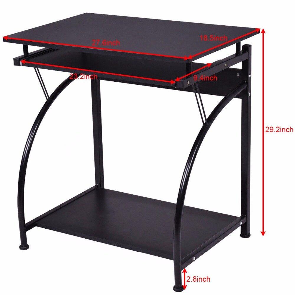 Best Kitchen Gallery: Goplus Puter Desk Pc Laptop Table Students Study Workstation Desk of Modern Desks For Home  on rachelxblog.com