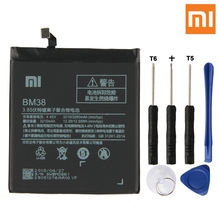 Xiao Mi Original Replacement Phone Battery BM38 For Xiaomi 4S M4s Authenic Rechargeable 3260mAh