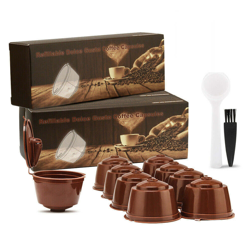Wholesale Nescafe Dolce Gusto Coffee Filters Cup Refillable Reusable Coffee Dripper Tea Baskets Dolci Gusto Capsule Pods