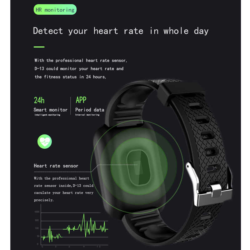Смарт-часы OLED Экран Фитнес браслет крови Давление монитор сердечного ритма IP67 Для мужчин Для женщин спортивные умные часы для Android IOS Телефон
