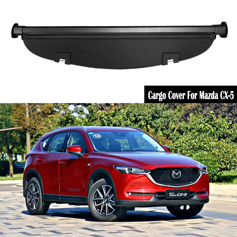 Rear Cargo Cover For Mazda CX-5 CX5 2017 <font><b>2018</b></font> 2019 privacy Trunk Screen Security Shield shade Auto Accessories image
