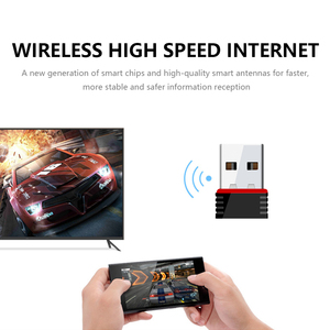 Image 3 - New Mini 802.11n/g/b Wifi 2.4 GHz~2.4835GHz Wireless Network Adapter 150Mbps USB Dongle for Laptop PC Windows 7/10/xp/ Vista