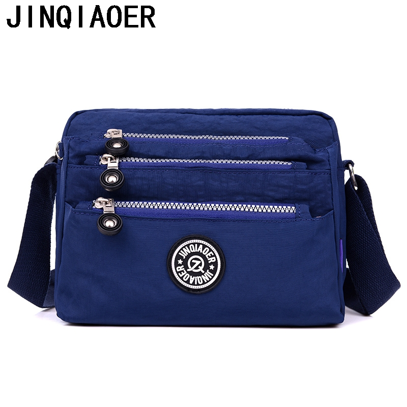 Fashion Monkey Womens messenger bags Waterproof Nylon purses and Handbags Female Crossbody Bags Kiple style shoulder