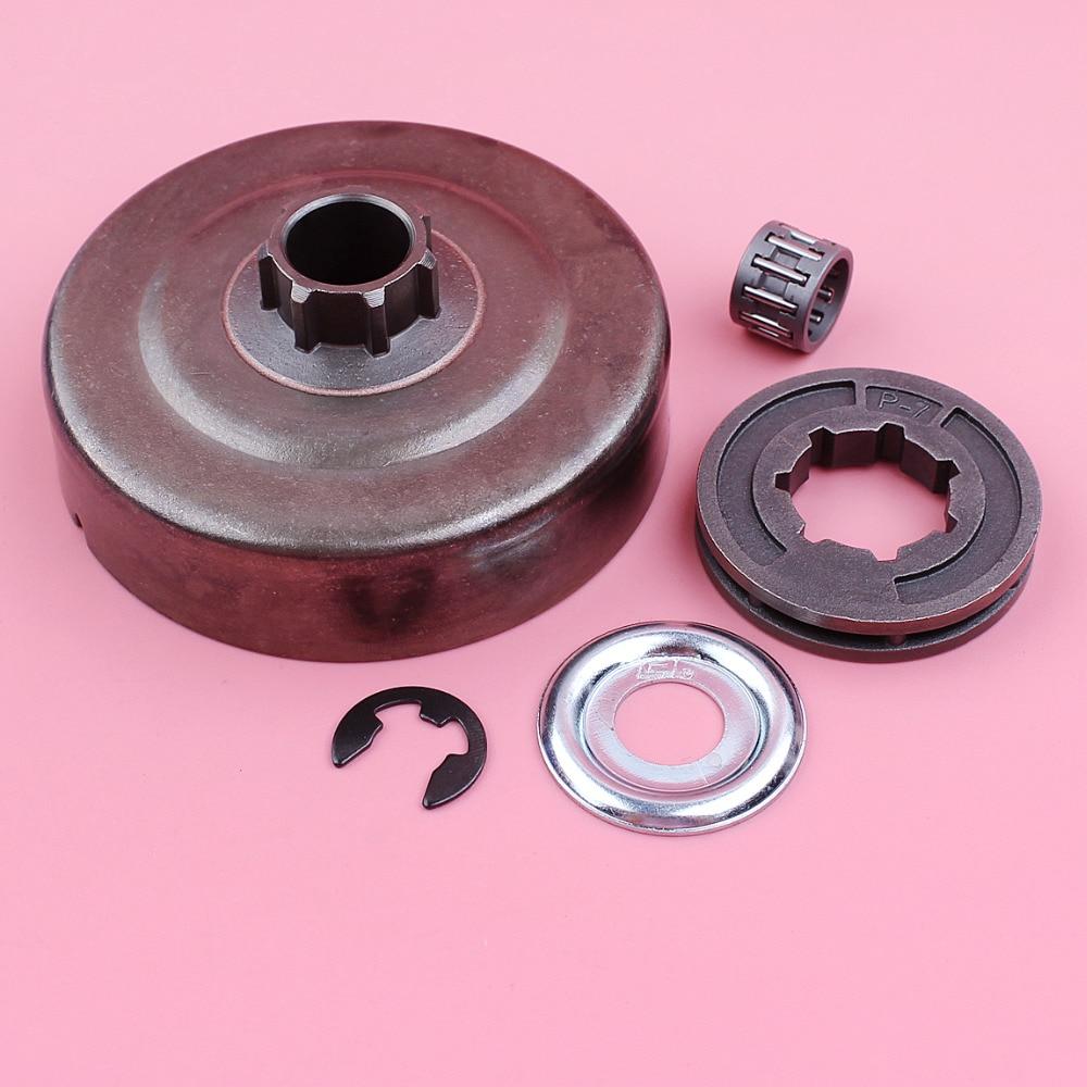 Clutch Drum P-7 Aro Da Roda Dentada Arruela E clip-Needle Bearing Kit Para Stihl MS180 MS170 018 017 ms 250 230 210 021 023 025 Motosserra