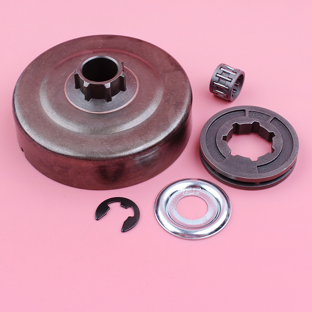 Clutch Drum P-7 Sprocket Rim Washer E-clip Needle Bearing Kit For Stihl MS180 MS170 018 017 MS 250 230 210 021 023 025 Chainsaw