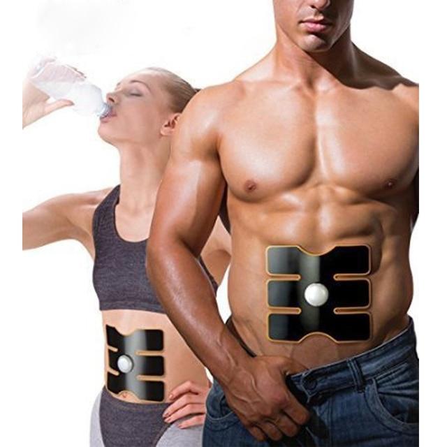 Men Women Slim Sticker Electronic Muscle Massage Trainer Body Leg