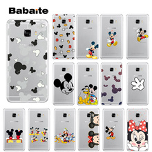 Babaite Mickey Mouse DIY Printing Drawing Phone Case cover Shell for Samsung S5 S6 S6 edge Plus S7 S8 S8plus S9 S9plus все цены
