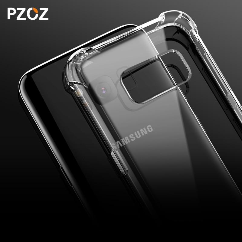 PZOZ Samsung Note 9 Case S9 S8 սիլիկոնային շքեղ - Բջջային հեռախոսի պարագաներ և պահեստամասեր - Լուսանկար 5
