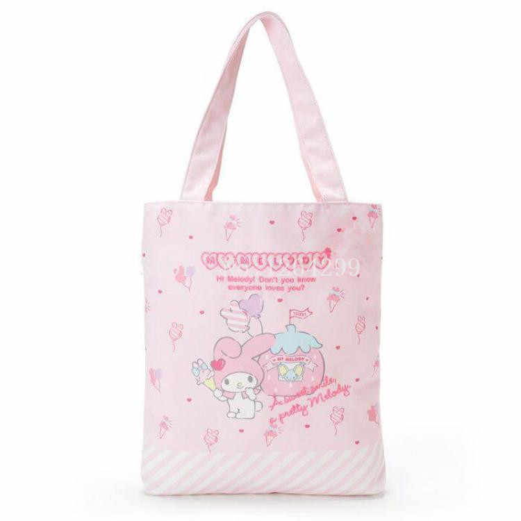 61c16f744196 New Fashion My Melody Hello Kitty Little Twin Stars Girls Woman Canvas Shoulder  Bags Kids Shopping