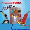 (220V) 709A 1500W Battery Spot Welder & Soldering Station with Universal Welding pen for phone notebook 18650 lithium battery